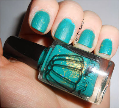 Nelly Polishes-Jonah's Green Swatch