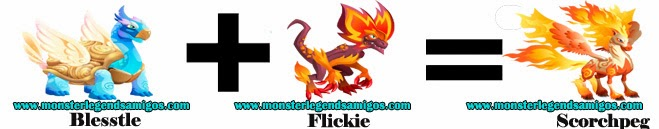 como obtener el monstruo scorchpeg en monster legends formula 2