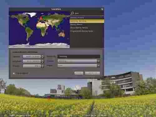 Simulasi pergerakan planet