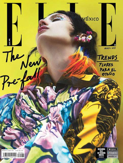 Model @ Alex Yuryeva for Elle Mexico, August 2015
