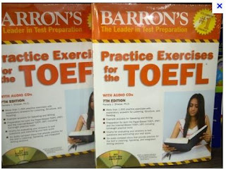 gambar sampul Free Download Barron's Practice Exercises for the TOEFL, Pamela Sharpe Ph.D