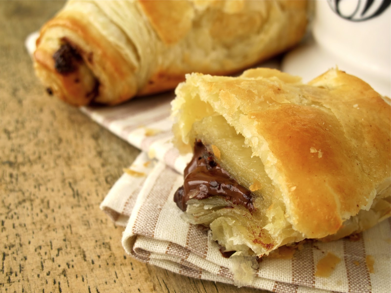 Jenny Steffens Hobick: Pain au Chocolat | Easy Chocolate ...