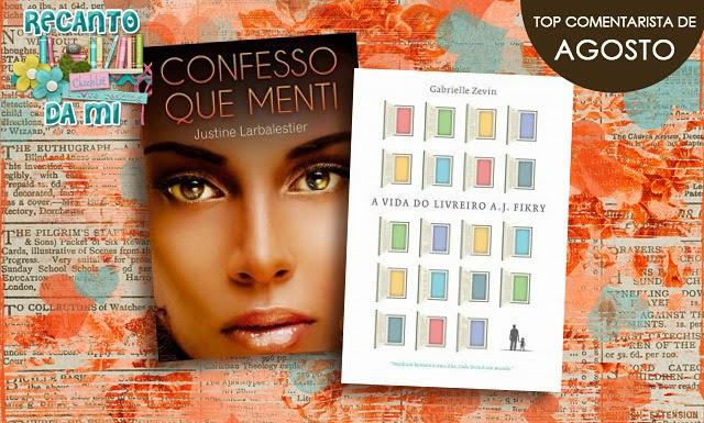 Promoção - Top Comentarista de Agosto Recanto da Mi