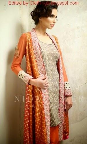 Designer Nida Azwer Collection 2015