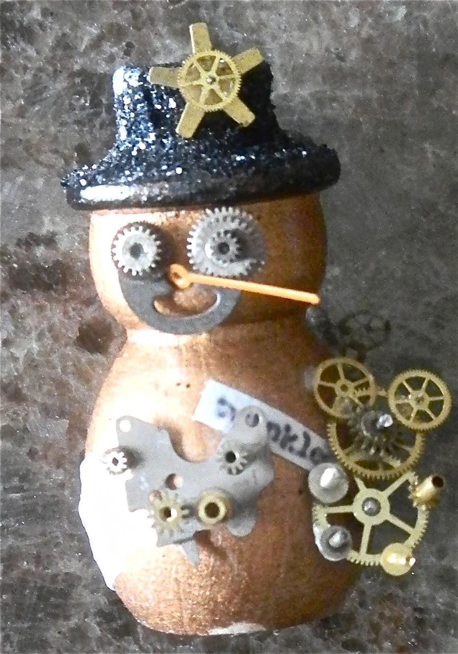 ATA Girls: (All Those Artsy Girls): SteamPunk Christmas Tree Ornament