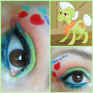 my little pony makeup granny smith