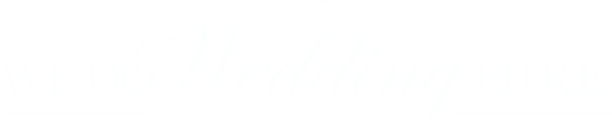 We Do Wedding Hire