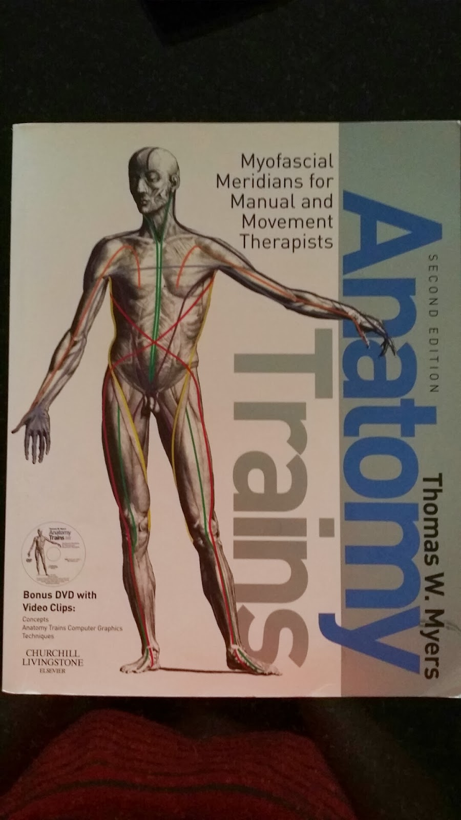 Malaysia Therapy Mom Sold Book Anatomy Trains By Thomas W Myers