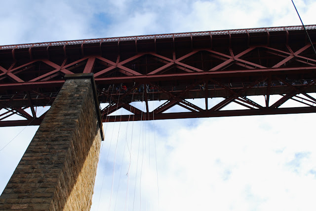 Forth Rail Bridge abseil