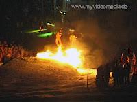 Fireshow in St Johann n Tyrol - Austria