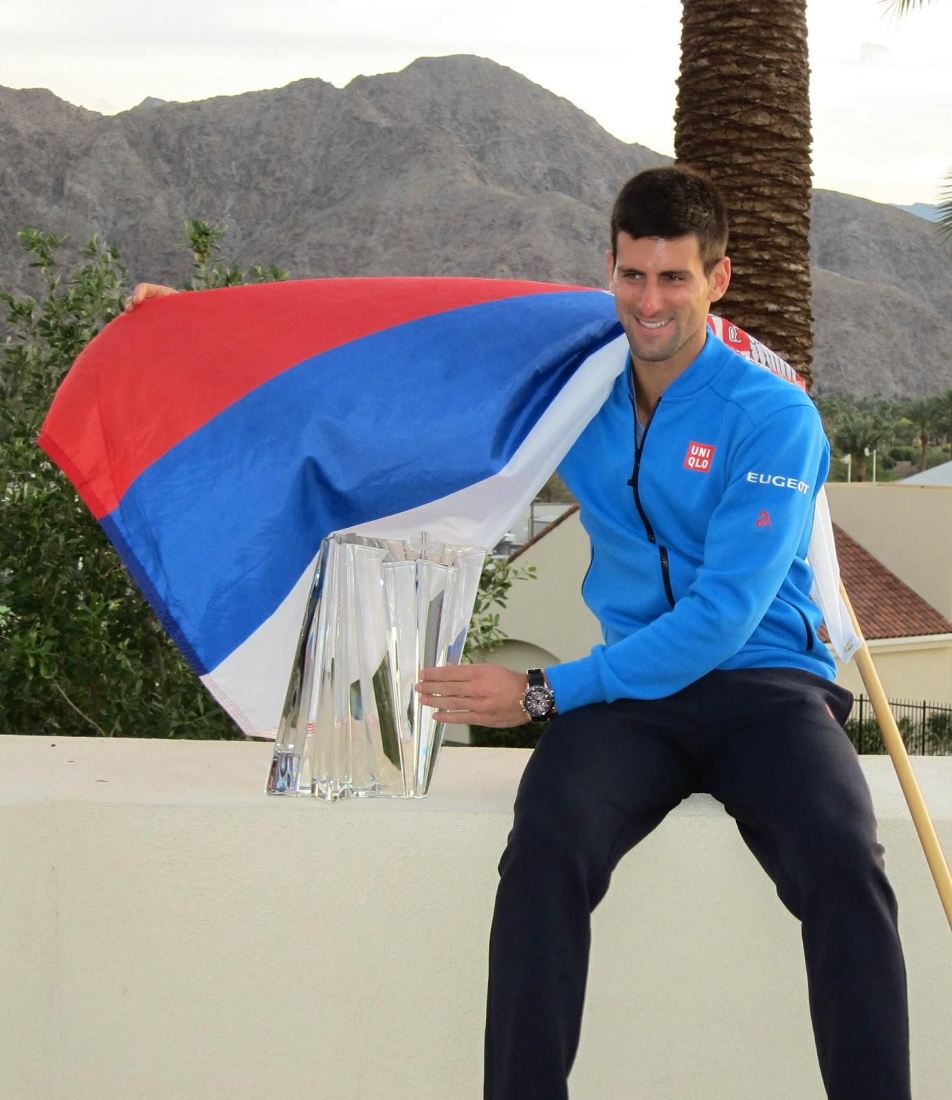 Djokovic overcomes nerves, tops Federer for title