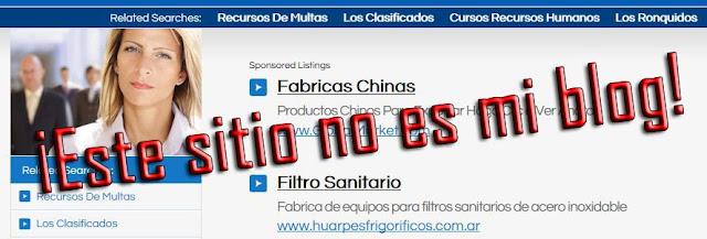 El blog ha sido redireccionado hacia otro sitio web, no instales gadgets externos a los de Blogger, causan problemas