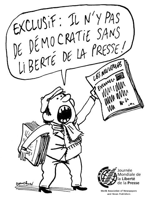La journée mondiale de la liberté de la presse jmlp