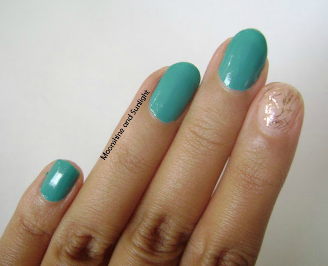 Teal Me More and Bella Broze Review and Swatch || LYN Nail Polish