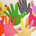 فن الرسم بالأيدى وصنع تصاميم مبدعة للأطفال