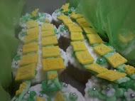 Cupcake Hantaran (Hijau)