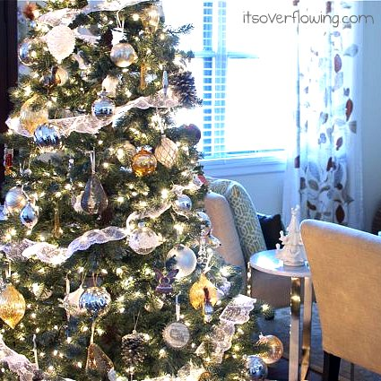 potterybarn christmas tree its overflowing