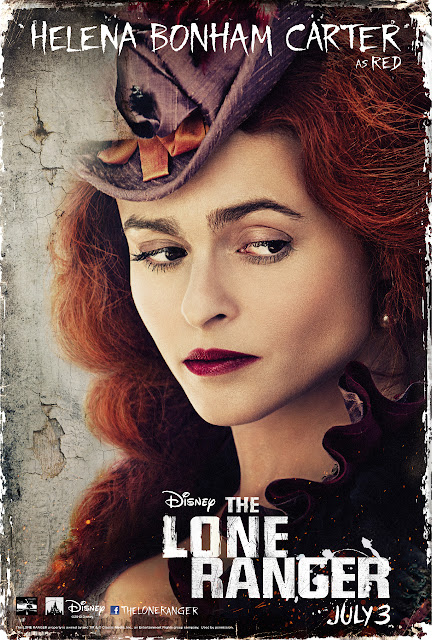 Helena-Bonham Carter as Red, a saloon owner who helps our heroes.  How can this film have both Johnny Depp AND Helena-Bonham Carter and not be directed by Tim Burton?