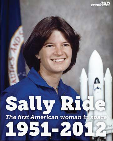 the life and achievements of sally ride A week before sally ride passed away, tam o'shaughnessy sat next to her on their bed  an honest biography of sally ride  who once again, at the end of her life, took ride's hand and .