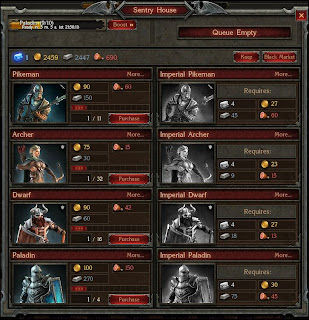 This is the Stormfall Age of War Unit creation screen