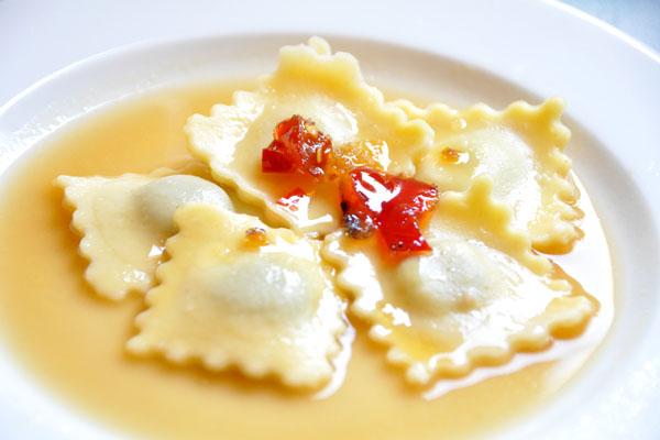 Vegemite Pasta with chilli jam