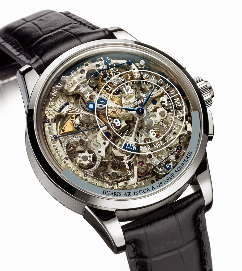 Jaeger lecoultre hybris artistica collection time and watches for Grande sonnerie