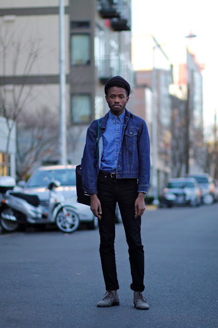 CHris Hill Nagle Place denim jacket seattle street style fashion it's my darlin'