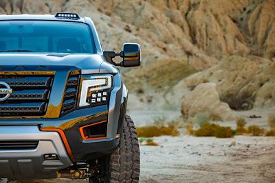 Παγκόσμιο ντεμπούτο για το Nissan TITAN Warrior Concept στο Διεθνές Σαλόνι Αυτοκινήτου του Detroit