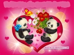 Imagenes animadas de amor con movimiento, frases y mensajes romanticos para descargar