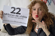 22 Millones de visitas, 50.000 suscriptores y 390 vídeos en youtube.com/BeatrizMontero
