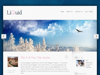 Liquid Best Themes Blogger template