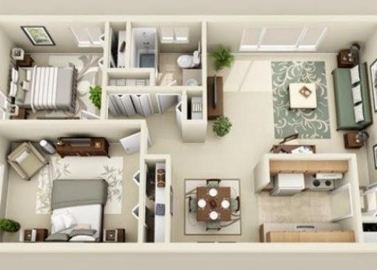 Desain Rumah Minimalis Kumpulan Denah Rumah Minimalis 2