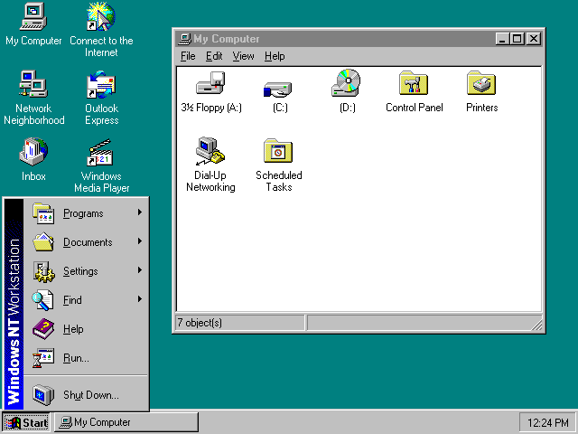 Windows NT Desktop