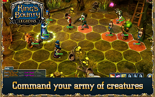 top 10 free kindle fire games, king's bounty: legion, kindlefiregamer.blogspot.com