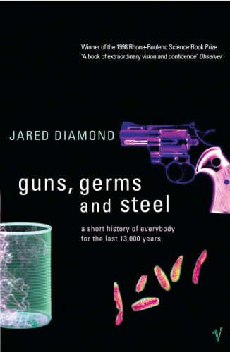 Book review guns germs and steel by jared diamond