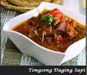 Resep Tongseng Daging Sapi Enak Khas Solo