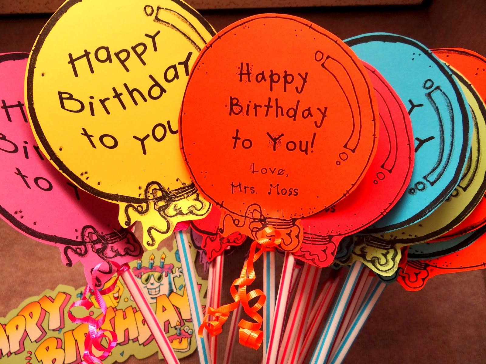 Classroom Birthday Ideas For A Teacher ~ Patties classroom what are your birthday gift ideas for