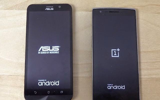 Adu Cepat Booting Smartphone Quad-Core Zenfone 2 vs OnePlus One
