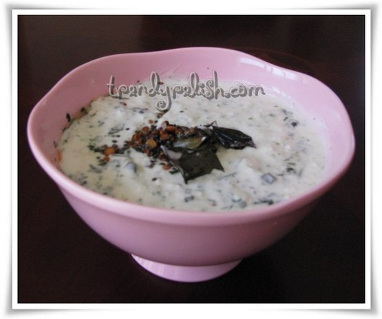 Kobbari Perugu Pachadi (Coconut in Yogurt)