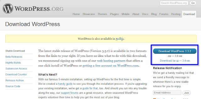how to install wordpress on localhost
