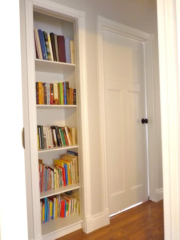 Closet Bookshelf title=