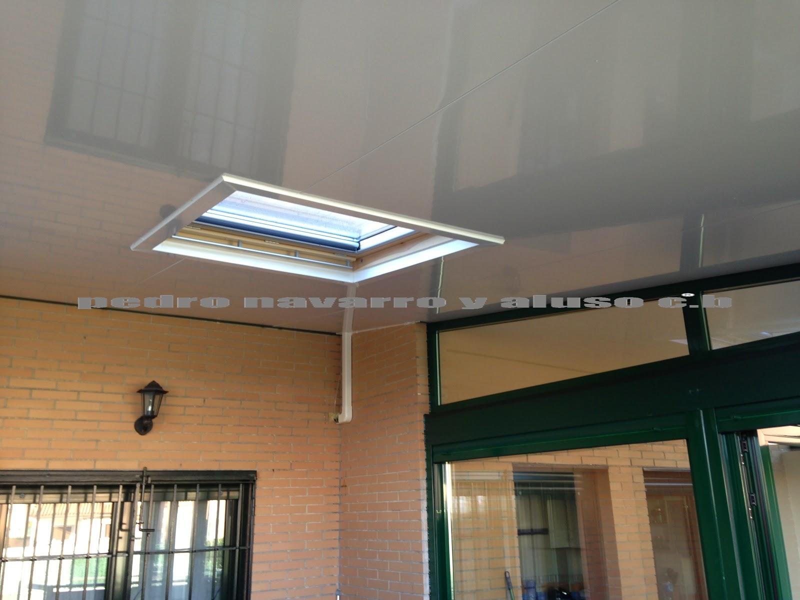 Techos moviles pedro navarro y aluso techos panel sandwich - Aislamiento termico techos interior ...