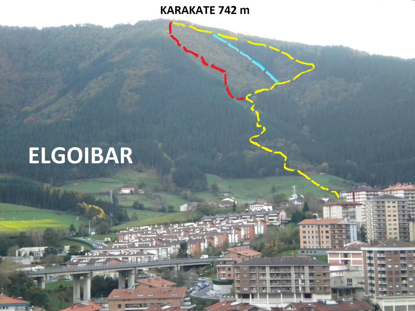 Karakateko XXIV. igoera: 4 km / 700 mD+