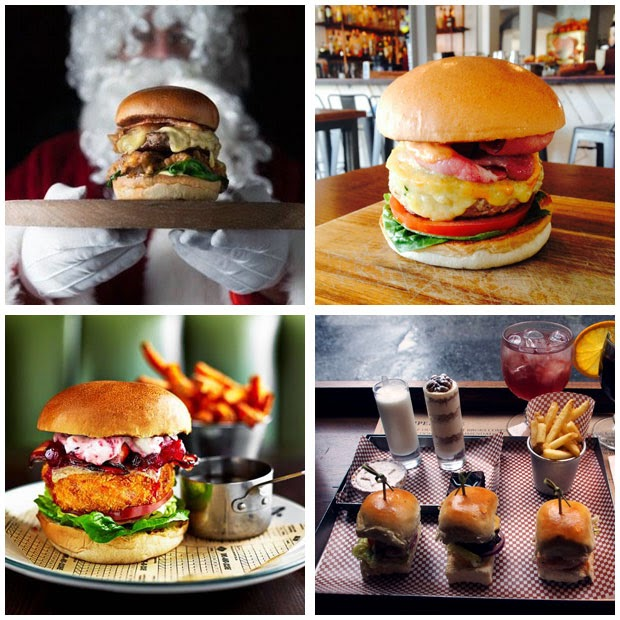 Burger Me A London Burger Blog December 2014 - Hamburger-scatter-cushions