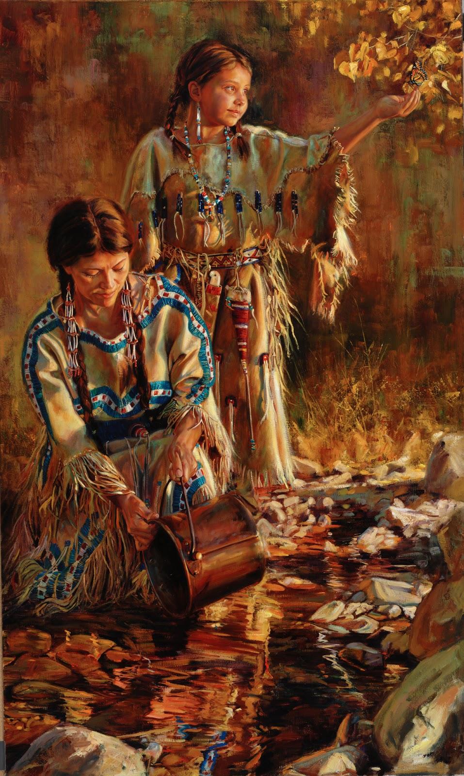 jeremy winborg art original oil paintings western artwork
