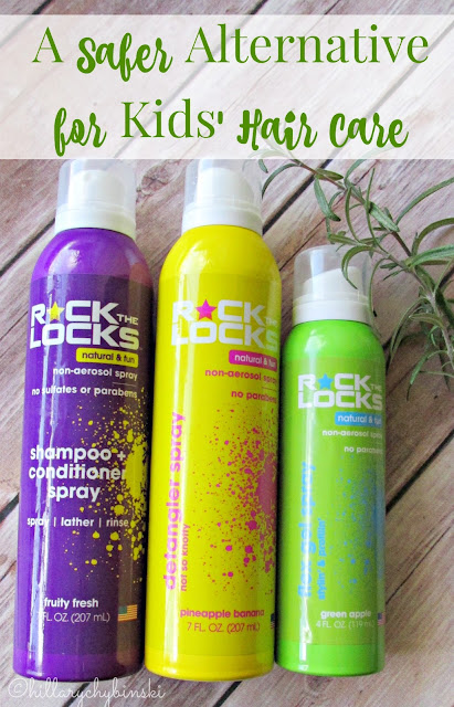 Rock the Locks Kids' Hair Care Line
