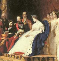 Eugénie et Louis Napoléon Bonaparte