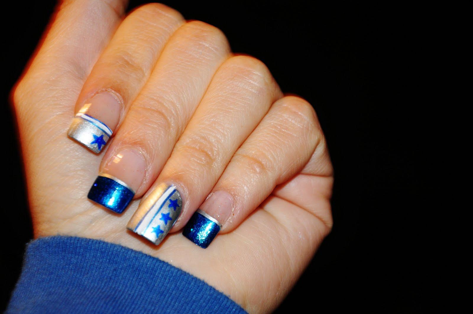 dallas cowboys nails | hair and stuff