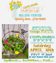 UpComing ChiPPy-SHaBBy Selling Venues