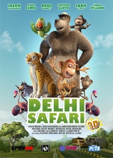 capa Download – Delhi Safari  – BDRip AVI + RMVB Legendado (2013)